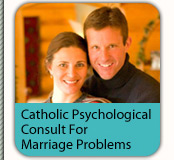 Catholic-oriented telephone counseling service for marriage problems