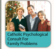Catholic-oriented telephone counseling service for family problems
